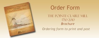Launch of the brochure - The Pointe-Claire Mill 1710-2010